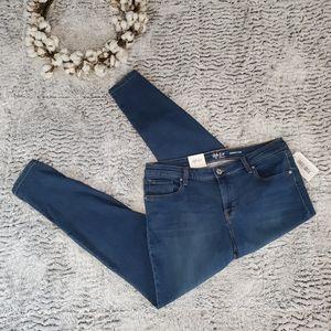 STYLE & CO Blue Midrise Ultra Skinny Jean 16W NWT